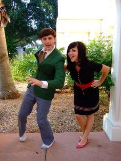 Nick Pitera and Kelly Johnson