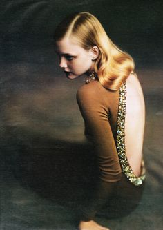 """vandercunt:    """"Ladies In Waiting"""". Caroline Trentini for W, October 2004 shot by Paolo Roversi"""