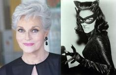 Lee Ann Meriwether (born May 27, 1935) is an American actress, former model, and the winner of the 1955 Miss America pageant. She is perhaps best known for her role as Betty Jones, the crime-solving partner in the long-running 1970s crime drama, Barnaby Jones.  She is also known for her portrayal of Catwoman in the 1966 film version of Batman. Meriwether had a recurring role as Ruth Martin on the daytime soap opera All My Children until the end of the series in September 2011.