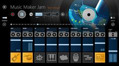 Start a jam session - anytime, anywhere!  Music Maker Jam // is the first app that combines easy music creation with maximum fun. In no time at all you'll be producing your own hits thanks to a huge selection of professionally produced loops and styles!