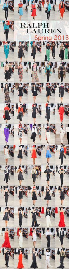 Ralph Lauren SS 2013 runway fashion