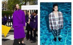 Stella McCartney dunks a model in a pool for Fall 2013, and it's surreal.