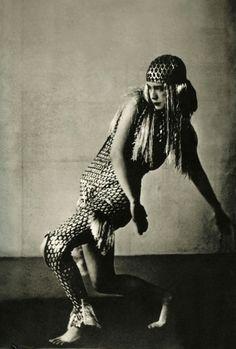 Lucia Joyce dancing at Bullier Ball, Paris 1929