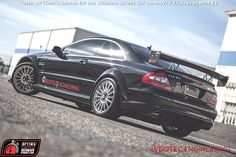 Paul Kobza's 800-horsepower #Mercedes CLK63 AMG #BlackSeries will be competing in the 2014 #OUSCI
