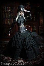 a wonderful steampunk outfit!