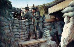 han hildenbrand, histori, german photograph, german front, photographs, color, wwi, war, colour photograph