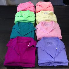 Frank & Eileen cotton shirts in Spring colors