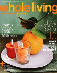 Whole Living Magazine 1-Year Subscription $3.50 at DiscountMags.com