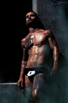 Model and tattoo artist Airam Castedo Photographer: Adrian C. Martin Underwear: Modus Vivendi  http://www.menandunderwear.com/2014/07/model-and-tattoo-artist-airam-castedo.html