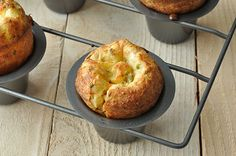 Gruyère and chive popovers
