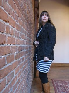 11/30/12 katrinkles' birthday cardigan  (Aidez free pattern)