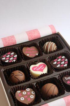artisan chocolates by VitaDolceChocolates