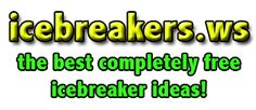 Icebreakers, Ice Breakers, Ice Breaker Games