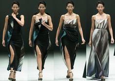 DESIGNER: Hussein Chalayan Transformer Dress