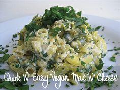 Mmmm. Quick vegan recipes!!!