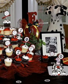 Dalmation birthday party