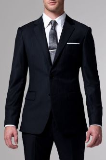 Essential Navy Pinstripe 3 Piece Suit