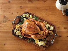 Roast Turkey with Sage, Onions & Red Wine Gravy Recipe - Clean Eating