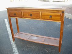 Reduce, Reuse, Renewed: Trashed Sofa Table to Mudroom Bench