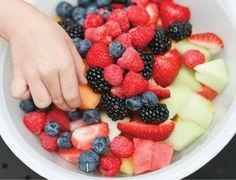 the major rule for eating fruit