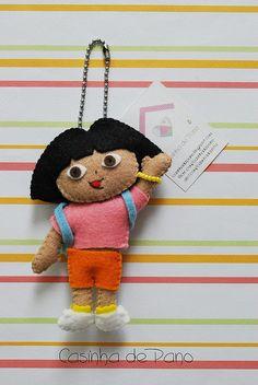 Dora by Casinha de Pano, via Flickr