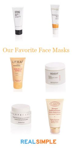 Have spa day at home! Click through for buying info for some of our favorite face masks.