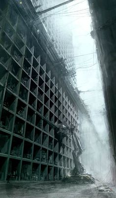 Icelandic concept designer Björn Börkur Eiríksson, lead artist/designer at CCP White Wolf, has some deeply depressing artwork to share on his site. IO9 mostly focused on the post-apocalyptic city exteriors: