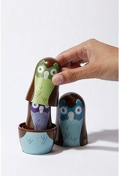 Nesting Owls!! O my goodness!!  So adorable!
