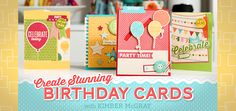 Learn How to Create Stunning Birthday Cards (FREE online class!)