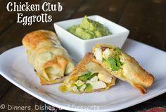 Chicken Club Eggrolls
