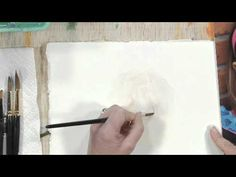 How to Draw a Nose Using Watercolors: Part 1