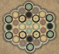 Penny Rugs On Pinterest