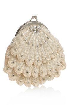 1920s style beaded handbag by Monsoon via Brides Magazine.