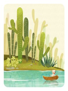 cactus island by kiwi