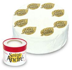 Ile de France St. Andre Cheese - creamy, delicious, and a great pairing with your charcuterie board