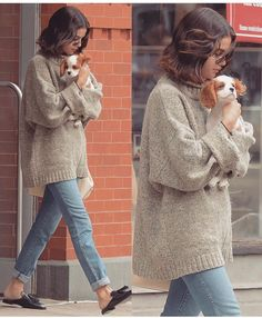 Want her sweater and the puppy 🐶