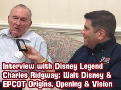 Disney Legend Charles Ridgway Interview, New Disney Trivia Contest and more!