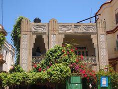Edificio Art Deco de La Habana