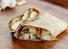 Chicken Marsala Wrap