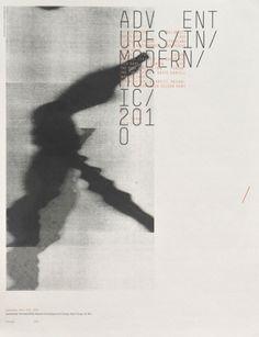 Adventures in Modern Music 2010 — Sonnenzimmer #layout #publication