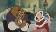Proof That The Beast Is A Secret Romantic | Oh My Disney