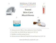 Treat your skin well during drying travel seasons! Check out some amazing options from #rodanandfields Contact me for more information! https://vic216.myrandf.com/ContactMe
