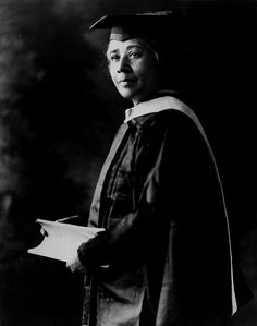 Dr Anna Julia Cooper's Graduation Photo - 1923. //  Dr. Anna Julia Cooper, 1858-1964  Born a slave in Raleigh, North Carolina, Anna Cooper began her education at St. Augustine's Normal and Collegiate Institute. In 1881 she enrolled at Oberlin College, where she earned bachelor's and master's degrees. She taught at M Street/Dunbar High School in Washington, D.C., for forty years and served as principal from 1901 to 1906. Later she studied at the Sorbonne in Paris, receiving a Ph.D. in 1925 at ...
