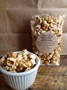 Maple Bourbon Bacon Popcorn