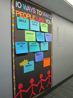 Would be great for 1st week of After School Program. Kids could write down their own ideas an then discuss...