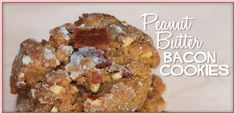 Bacon Peanut Butter Cookies - Bacon Today