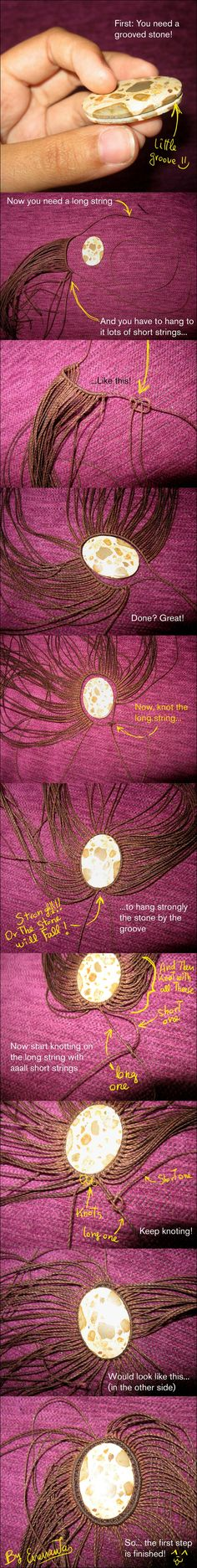 Tutorial part 1: Stone pendant by enenauta on deviantART