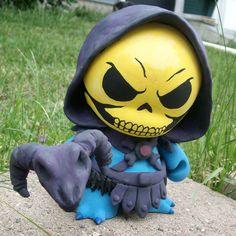 Skeletor Munny by lordzasz.deviantart.com on @deviantART