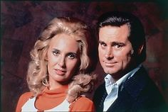 George Jones and Tammy Wynette, one of the greatest musical pairings ever.