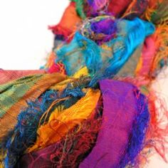 sparkl bead, saris, silk ribbon, indian sari, ribbons, sari ribbon, sari silk